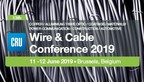 CRU brings its Wire & Cable Conference to Brussels, Leading Manufacturers and Thought-leaders from Around the World set to Share their Strategies and Market Views