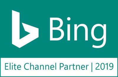 Bing Elite Channel Partner Badge Teal