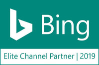 Bing Elite Channel Partner Badge Teal