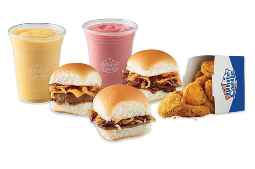 White Castle's new BBQ bash lineup includes the BBQ Brisket Slider, BBQ Original Slider and BBQ Impossible Slider. Summer Smoothies and Fried Pickles also join the limited-time lineup.