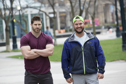 Canada Has Chosen: Jet and Dave Set to Race Again on Season 7 of CTV's THE AMAZING RACE CANADA (CNW Group/CTV)