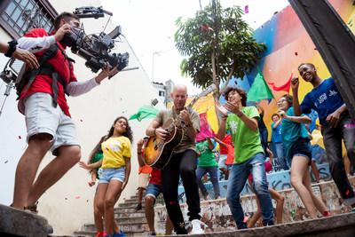ESPN junto al Cantautor Peruano Gian Marco Presentan la Canción «El Triunfo es mi Destino» como parte de la Campaña del Canal para los XVIII Juegos Panamericanos Lima 2019