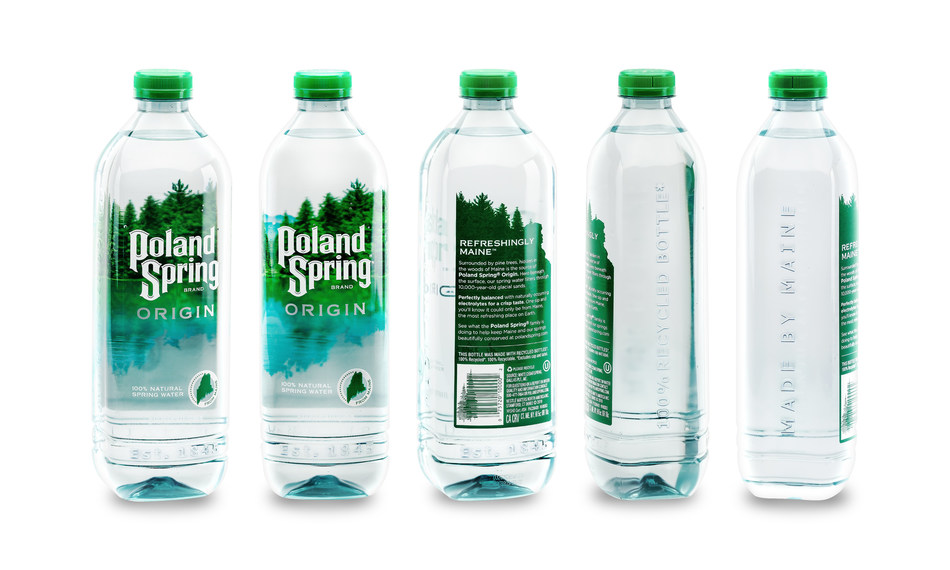 Poland Spring Origin Bottles