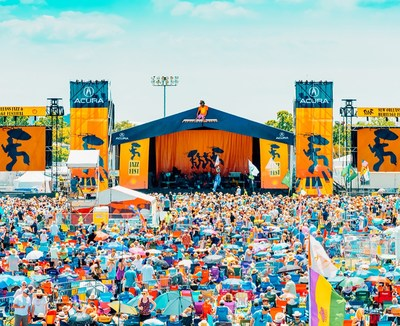 Acura Celebrates 20 Years as Proud Sponsor of New Orleans Jazz & Heritage Festival