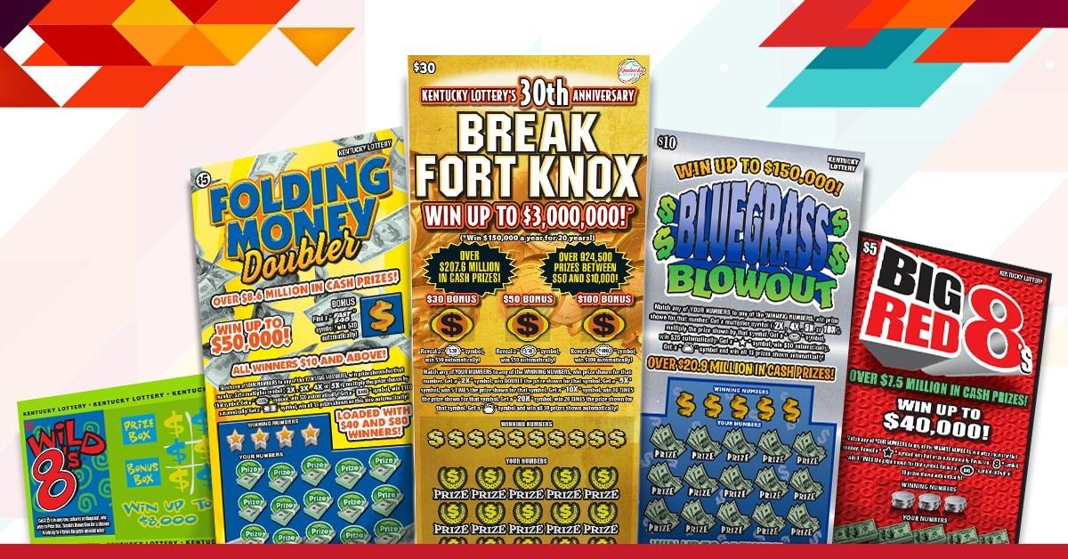 Scientific Games' Scratch-Offs Partner Kentucky Lottery