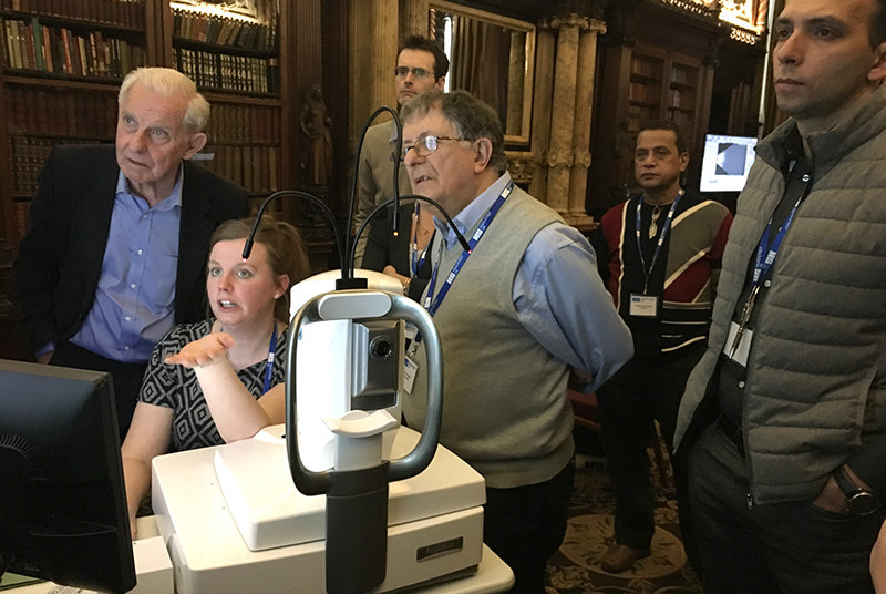 Ultrasound & OCT-A course workshop
