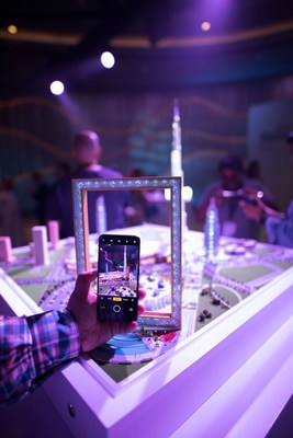 OPPO Reno Launch Event Experience Zone (PRNewsfoto/OPPO)