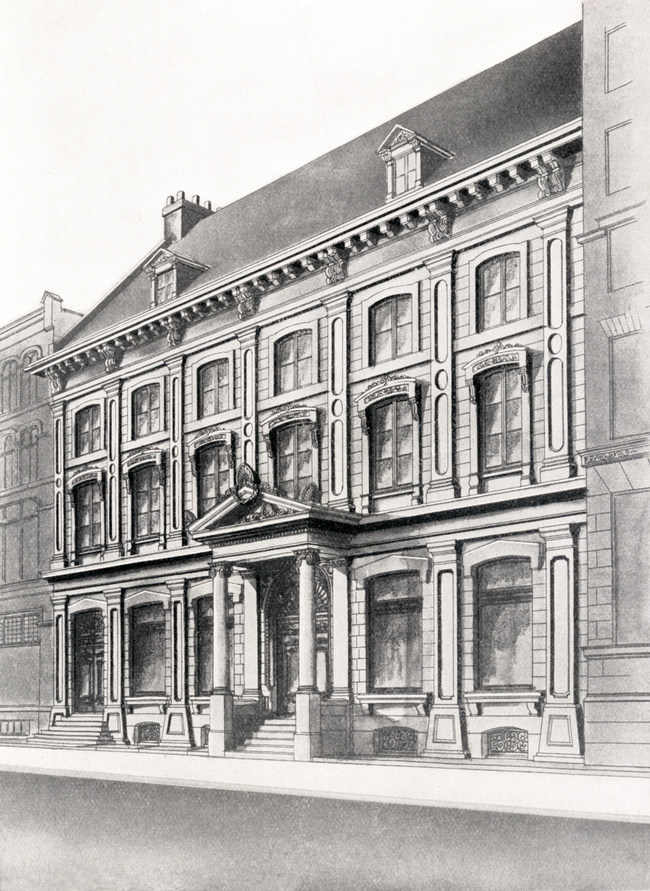 National Bank's first official head office on rue Saint-Pierre in Quebec City. (CNW Group/National Bank of Canada)