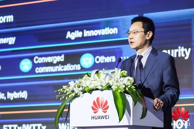 Ma Yue, vice-presidente da Huawei Enterprise BG e presidente de vendas globais do EBG (PRNewsfoto/Huawei)