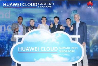 HUAWEI CLOUD estrena un laboratorio de innovación en IA y la nube en Singapur