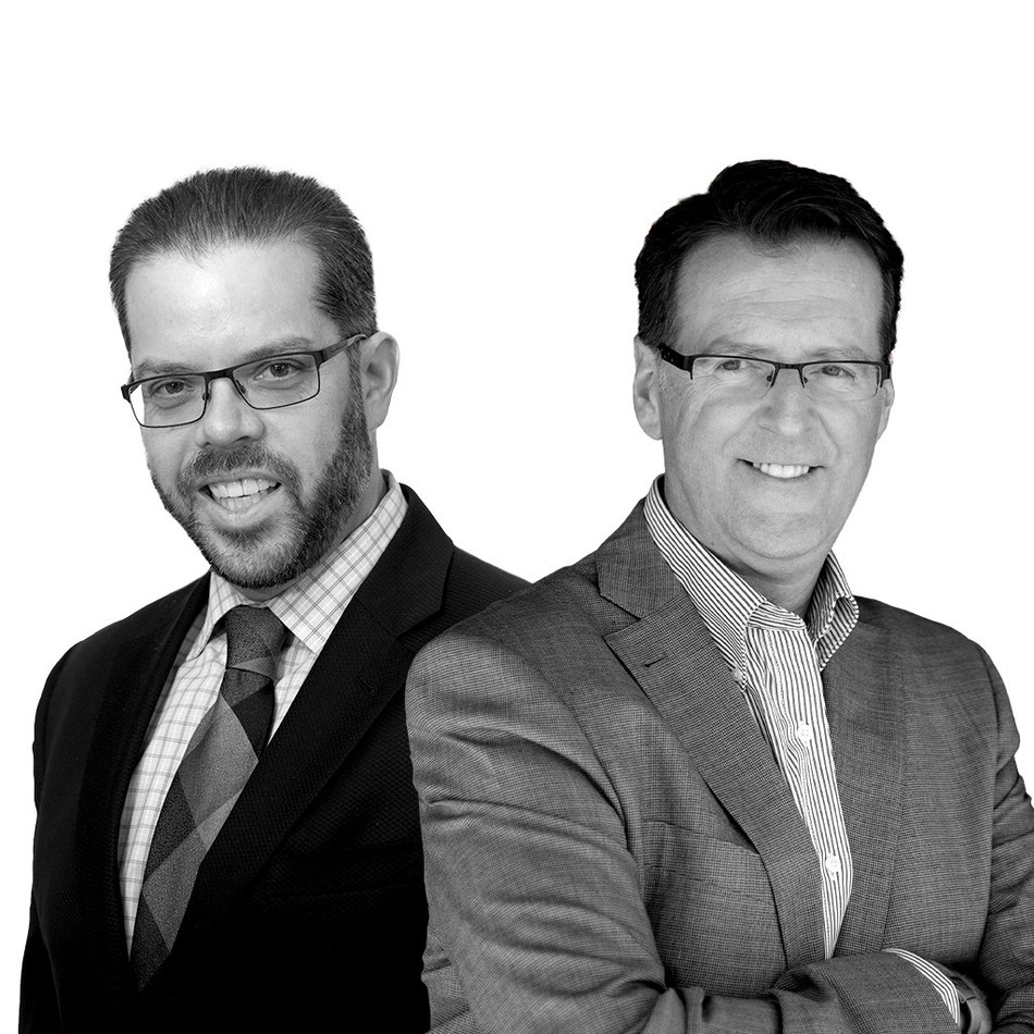BT Canada announces a new round of investment in game-changing technology and growth (L to R: Robert Blais, Grant Galbraith) (CNW Group/Baker Tilly Canada Cooperative)