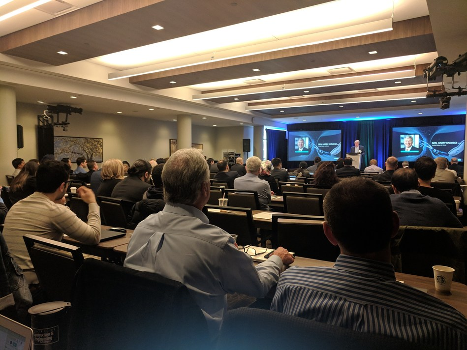 General Harry Raduege (Ret) USAF opens Quantum Summit and the unveiling NXM Quake today in Toronto