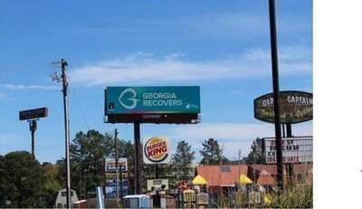 Georgia Recovers billboard