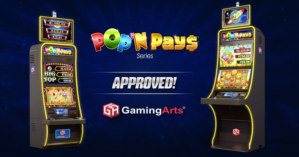 Big Top™ and Pinatas Ole™ game titles approved in multiple jurisdictions.