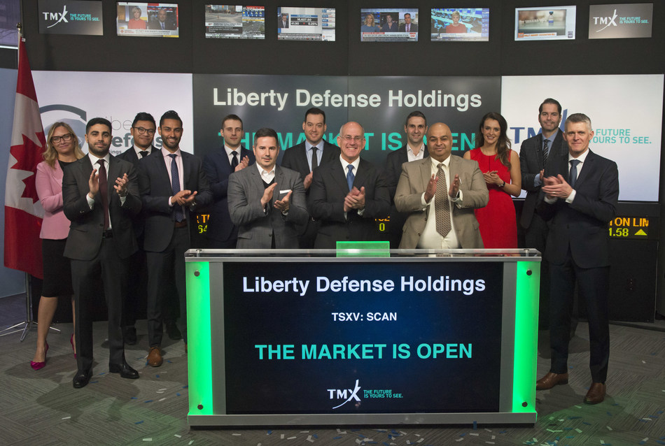 Liberty Defense Holdings Ltd. Opens the Market (CNW Group/TMX Group Limited)