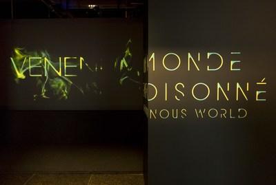 Venenum: A Poisonous World - Step inside the fascinating realm of poison. Photo : Marie-Josée Marcotte - Icône (CNW Group/Musée de la civilisation)