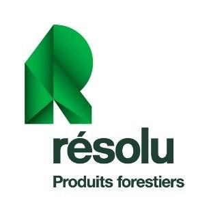 Logo : Produits forestiers Résolu (Groupe CNW/Produits forestiers Résolu Inc.)