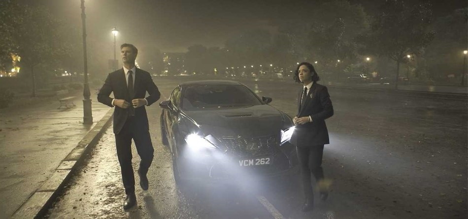 The 2020 Lexus RC F to star as the Men in Black agents' vehicle of choice in Sony Pictures' Men in Black: International