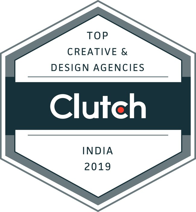 Clutch Badge - Top Creative and Design Agencies in India