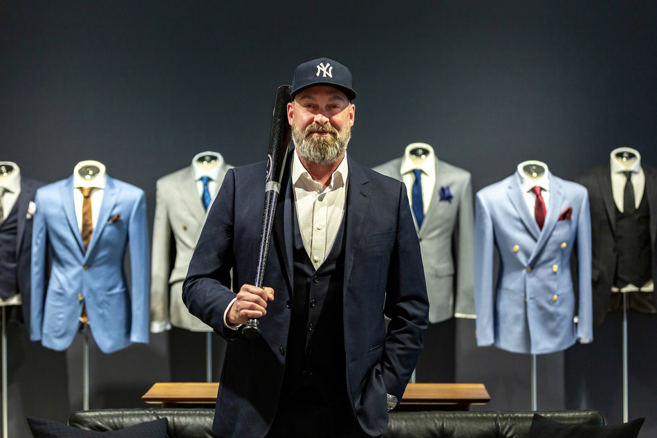 INDOCHINO is reinforcing its commitment to the tri-state region and renewed its partnership as the Official Made to Measure Brand of the New York Yankees. [Image: Drew Green, President & CEO of INDOCHINO] (CNW Group/Indochino Apparel Inc.)