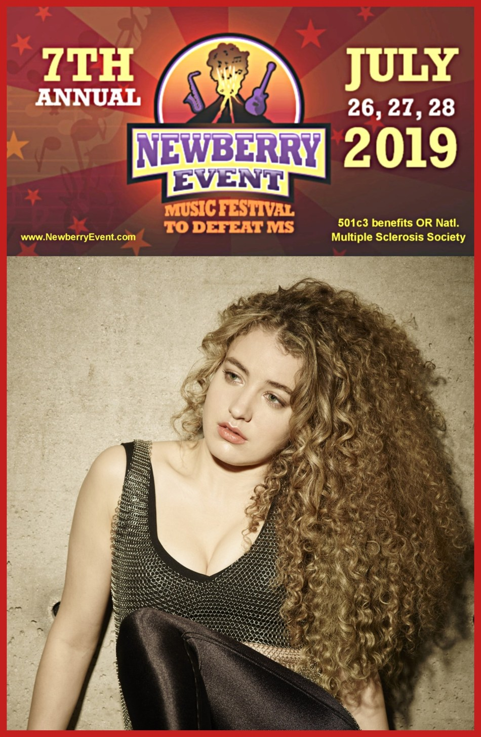 7th Newberry Event Charity Music Festival to Defeat Multiple Sclerosis Central Oregon, JULY 26-28, 2019 www.newberryevent.com