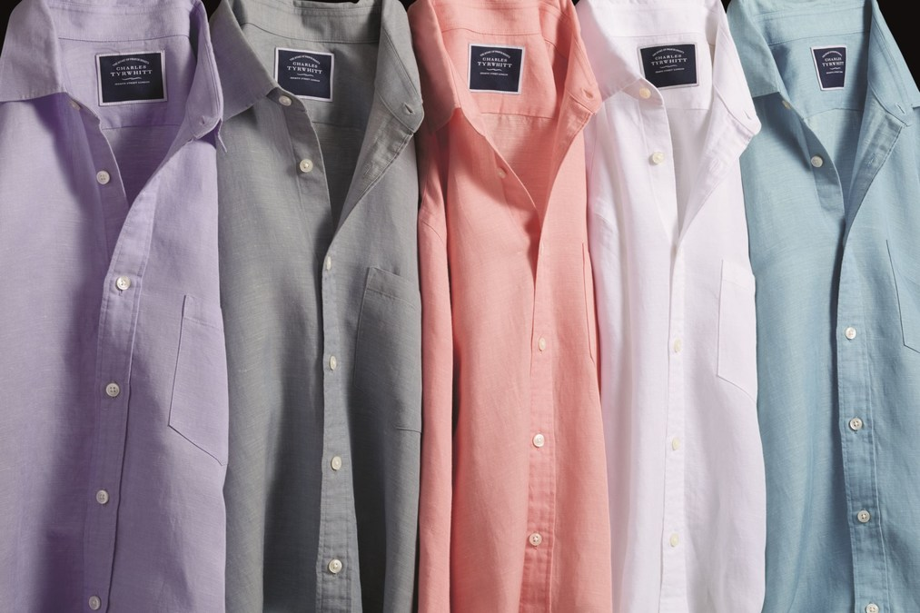 0f9de6e9 Charles Tyrwhitt Introduces New 2019 Business Casual Summer Collection