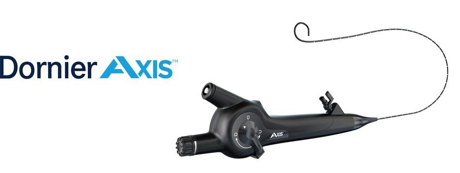 Dornier's new AXIS Single-Use Flexible Digital Ureteroscope now available in the United States (PRNewsfoto/Dornier MedTech)