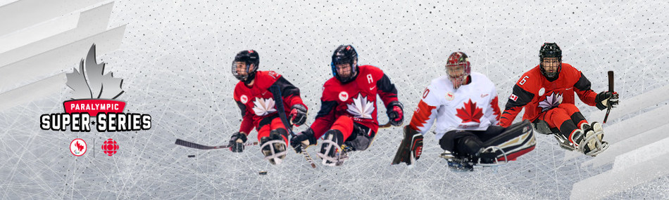 The 2019 World Para Ice Hockey Championships will be live streamed as part of the Paralympic Super Series. PHOTO: Canadian Paralympic Committee (CNW Group/Canadian Paralympic Committee (Sponsorships))