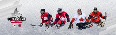 Les Championnats du monde de para-hockey sur glace de 2019 sont à ce jour le dernier événement de la Super série paralympique. PHOTO: Comité paralympique canadien (Groupe CNW/Canadian Paralympic Committee (Sponsorships))
