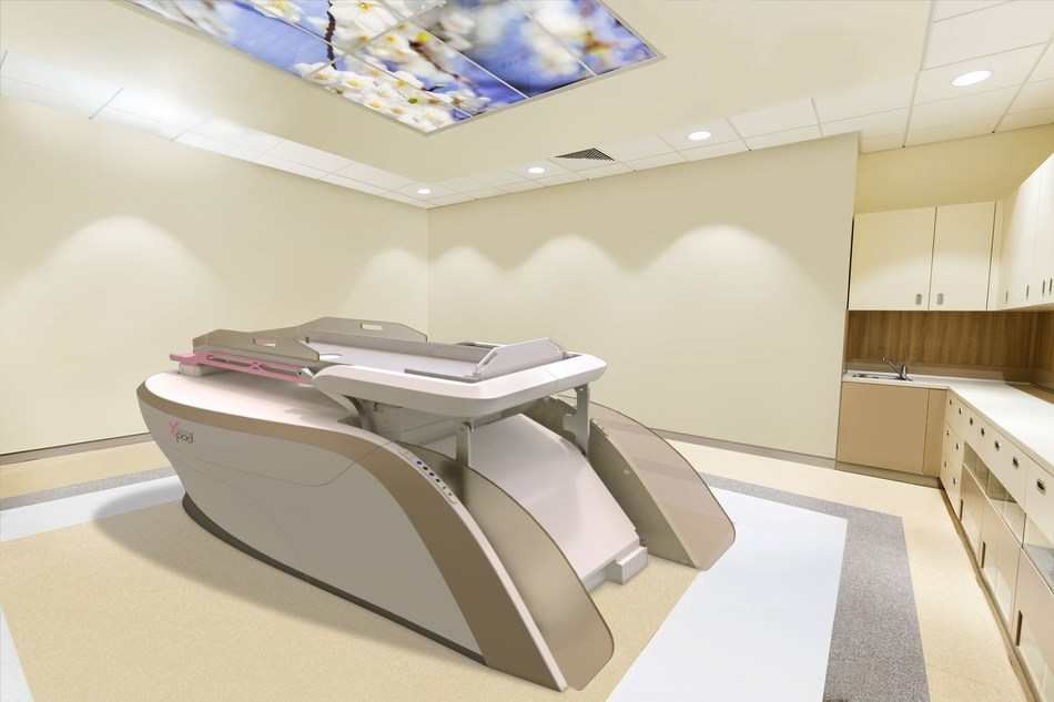 The GammaPod Stereotactic Radiotherapy System is a new tool designed to deliver noninvasive stereotactic partial breast irradiation treatments to breast cancer patients.  The delivery of higher doses in one or several large fractions differentiates stereotactic radiotherapy from conventional techniques.