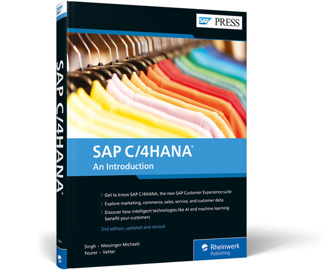 SAP PRESS' latest book on the SAP C/4HANA suite of CRM products.
