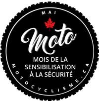 Logo du mois de la sensibilisation à la sécurité. (Groupe CNW/Motorcyclists Confederation of Canada (MCC))