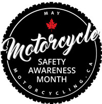 Motorcycle Safety Awareness Month (CNW Group/Motorcyclists Confederation of Canada (MCC))
