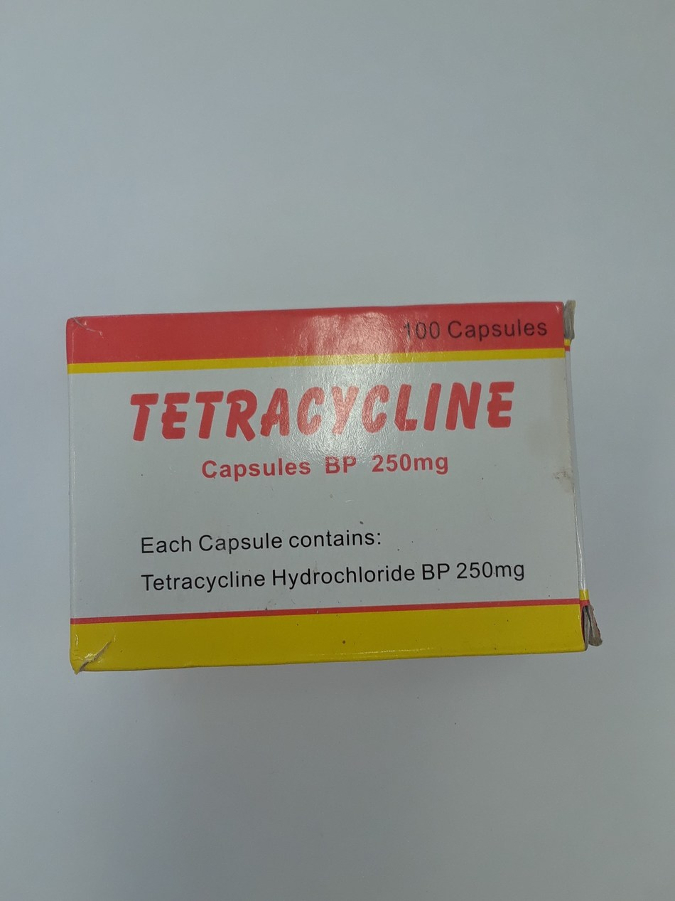 Tetracycline 250 mg (CNW Group/Health Canada)