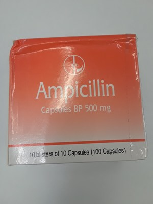 Ampicillin 500 mg (CNW Group/Health Canada)