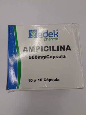 Ampicilina 500 mg (CNW Group/Health Canada)