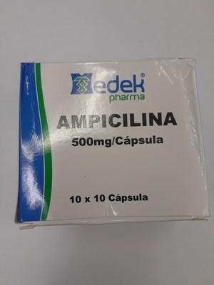 Ampicilina 500 mg (Groupe CNW/Santé Canada)