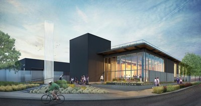 King County's Georgetown Wet Weather Treatment Station (WWTS) project rendering.