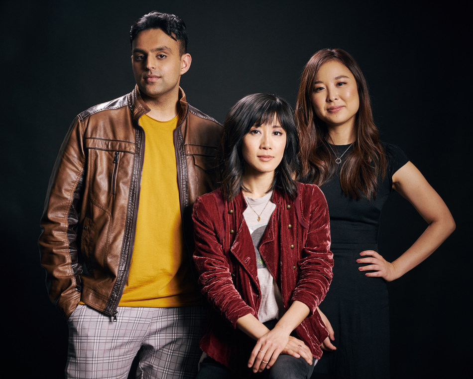 2019 HBO APA Visionaries Finalists (from left to right): Nirav Bhakta, Julie Zhan, So Young Shelly Yo