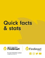 Fact Sheet: FireSmart British Columbia Quick Facts and Statistics (CNW Group/BC FireSmart Committee)