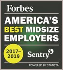 Sentry named one of America's best employers