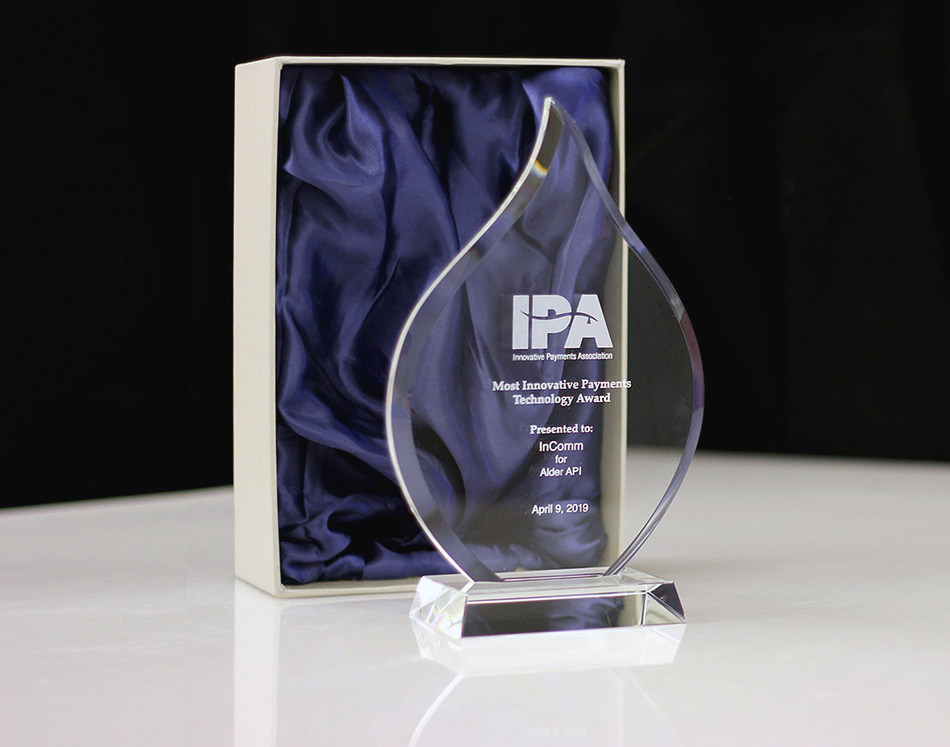 InComm's Alder API Awarded Most Innovative Payments Technology by the Innovative Payments Association
