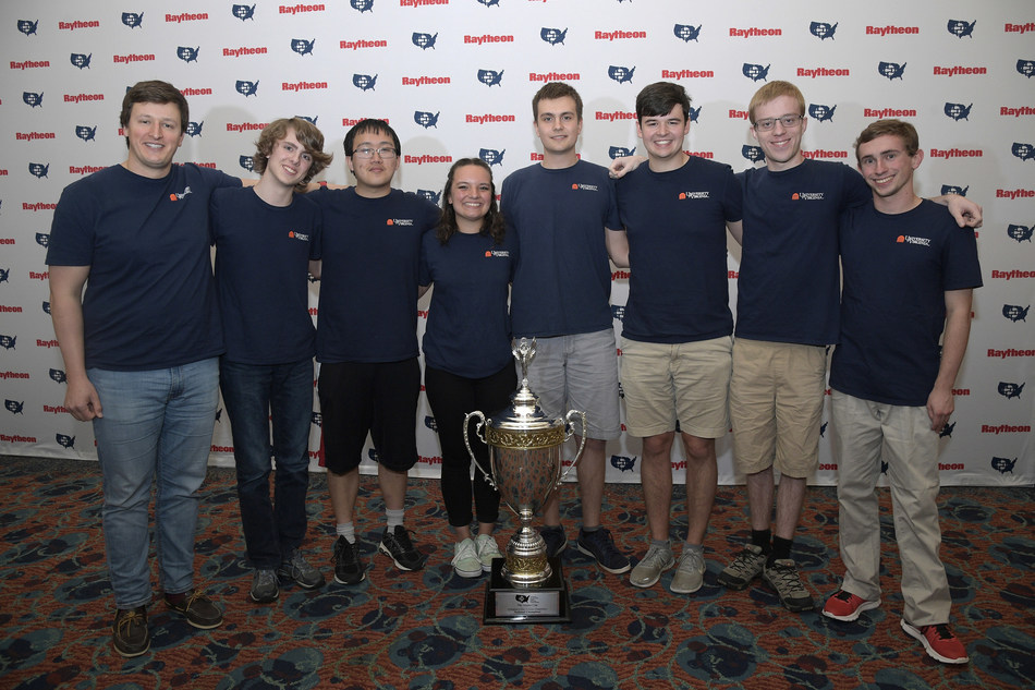 University of Virginia extends reign as 2019 National Collegiate Cyber Defense Champion. (PRNewsfoto/Raytheon Company)