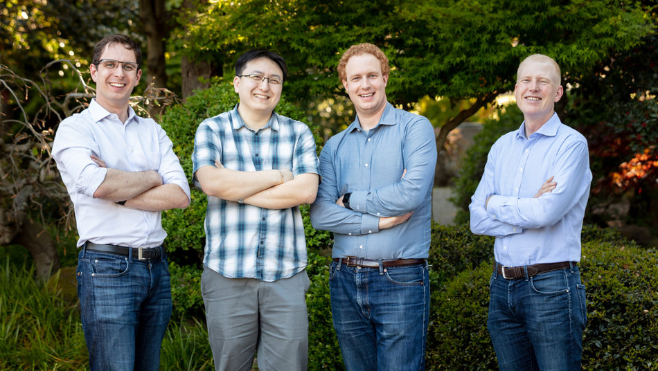 Les fondateurs de Verkada, Filip Kaliszan, James Ren, Benjamin Bercovitz et Hans Robertson, ont obtenu un financement de 40 millions de dollars qui leur permettra de poursuivre l'expansion de la société dans le marché de la sécurité d'entreprise. (PRNewsfoto/Verkada)