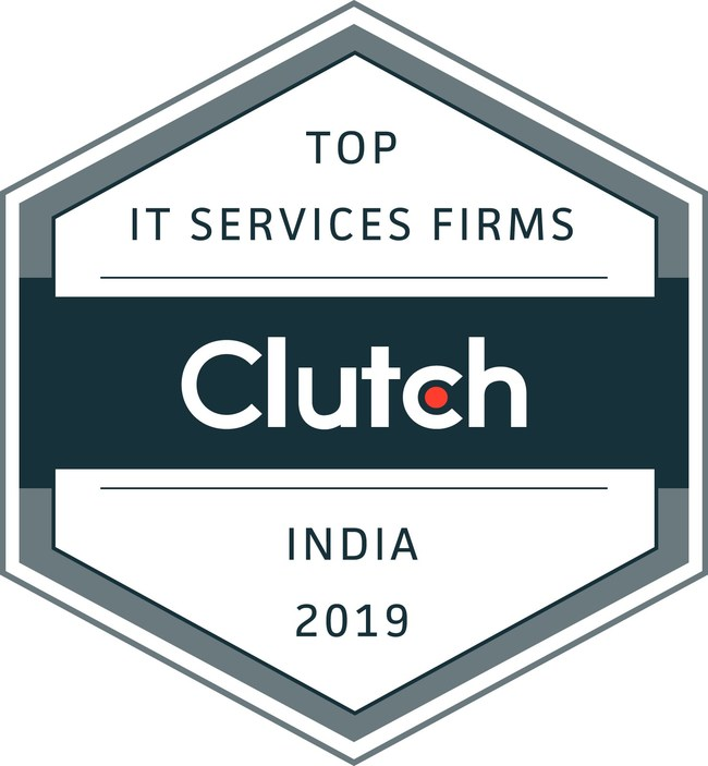 Clutch Badge - Top IT Services Firms, India