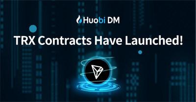 Huobi DM launched TRX
