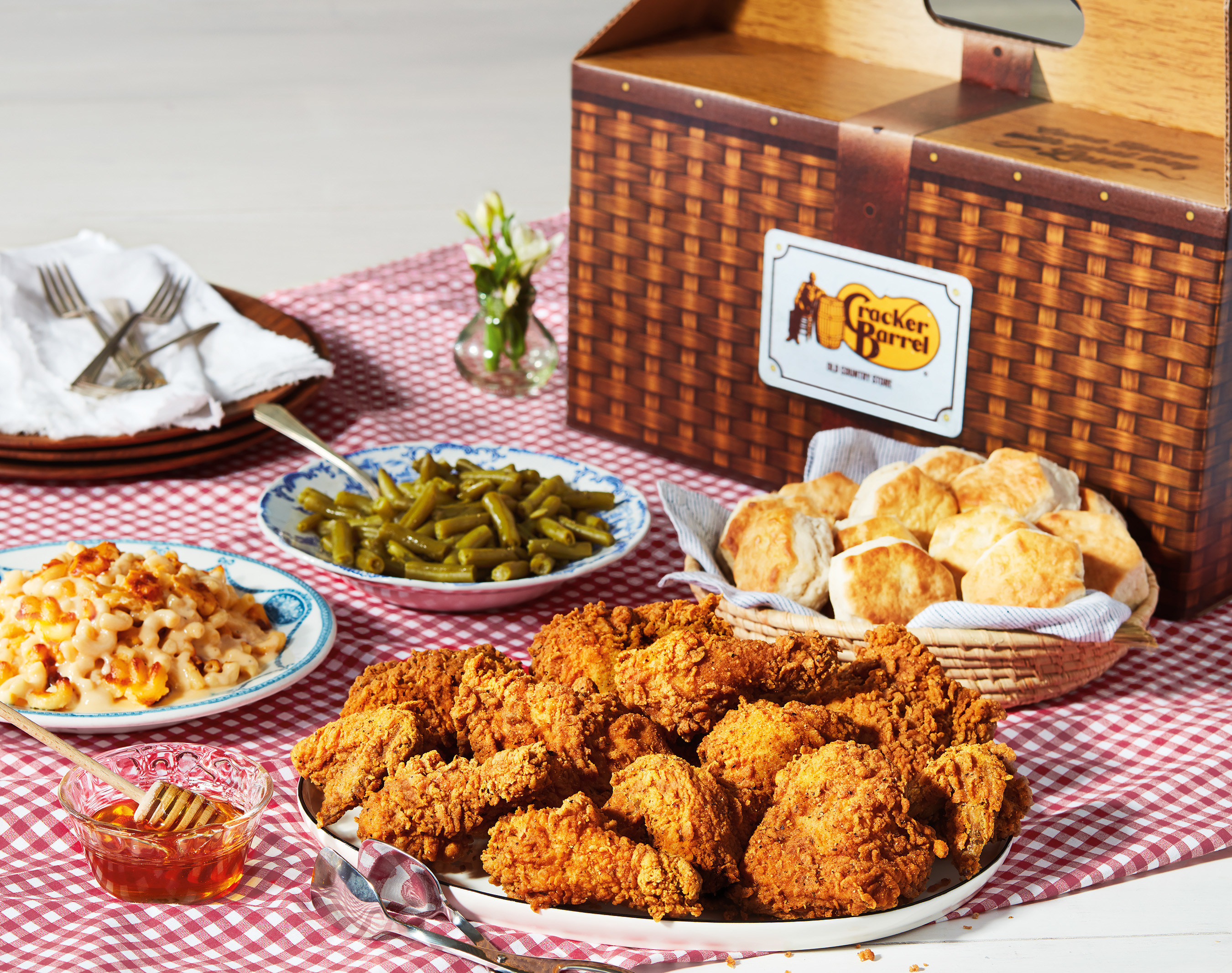 473804aa35 To Celebrate 50 Years, Cracker Barrel Old Country Store Releases Southern  Fried Chicken