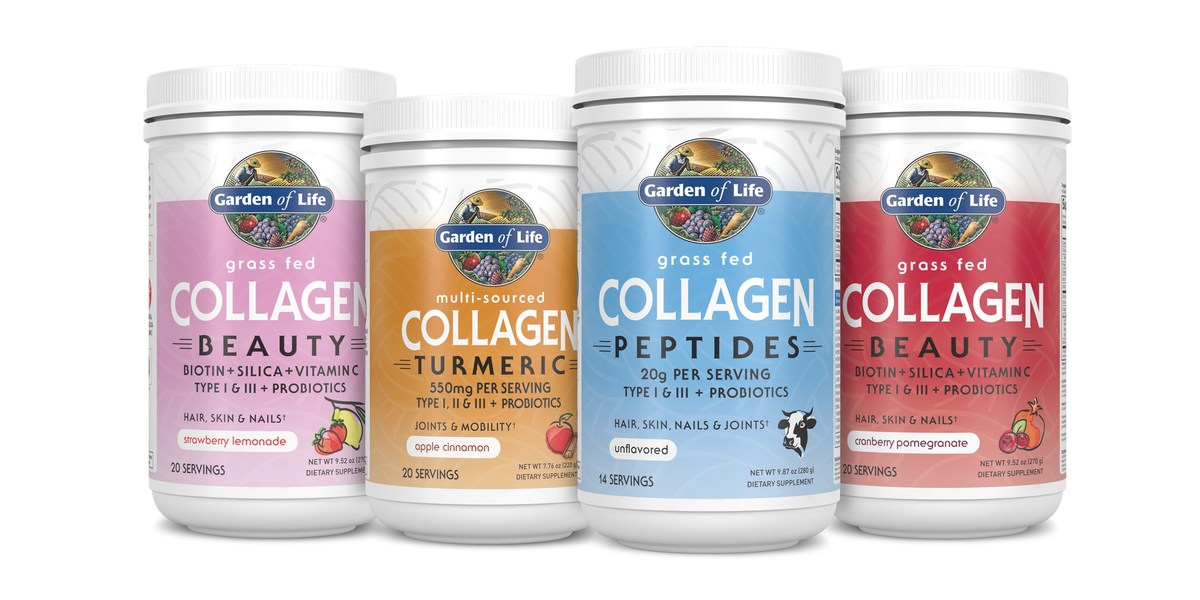 Garden Of Life® Launches Grass-Fed Collagen Line Designed To