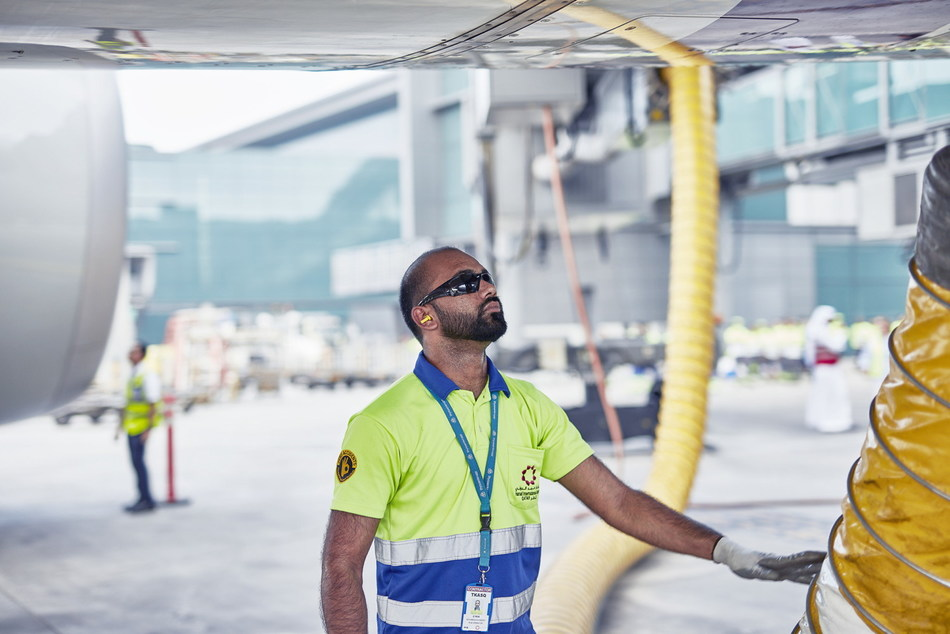 thyssenkrupp has secured its largest ever airports services contract at Hamad International Airport in Doha which boasts an excellent reputation combining cutting-edge architectural design with the most advanced technological system. (credit: thyssenkrupp Elevator) (PRNewsfoto/thyssenkrupp Elevator AG)