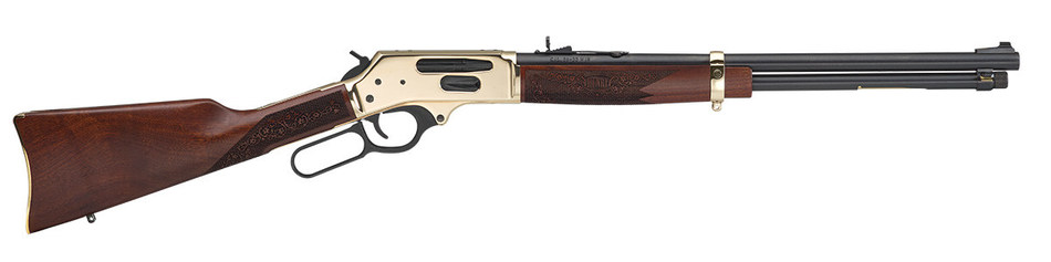 The new Side Gate Lever Action rifle from Henry Repeating Arms (MSRP $1,045) is available now at Henry dealers around the country.